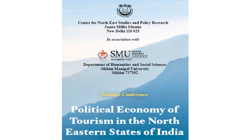 National conference on Political Economy of Tourism in the North Eastern States