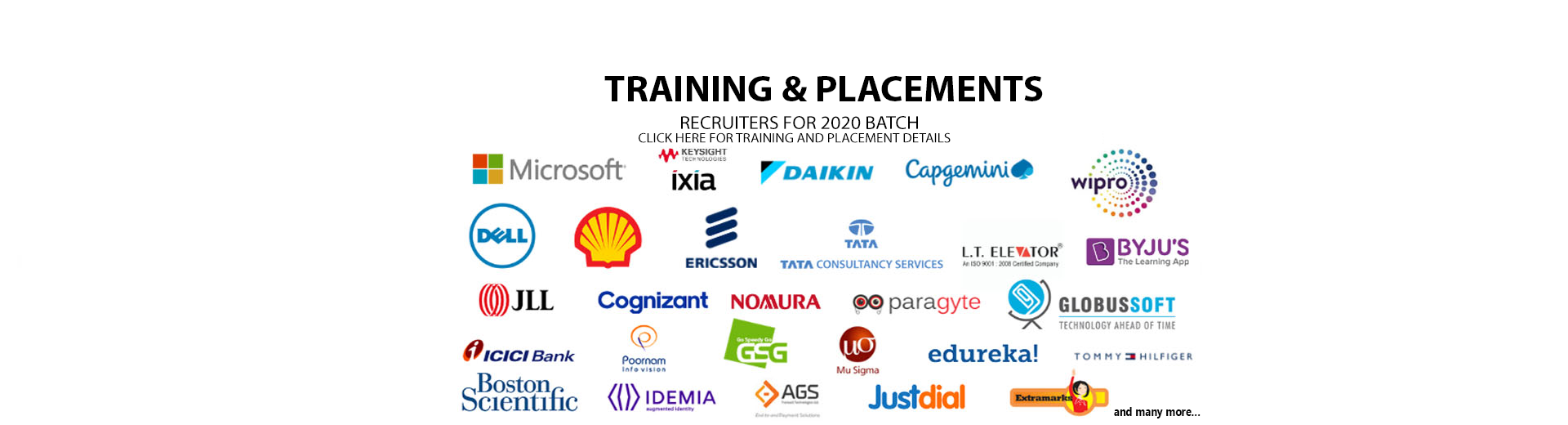 Training & Placements Liasion - smit